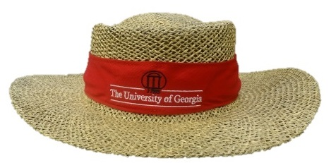 UGA Griffin Campus Store. Straw hat 7659d0e8a