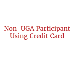 Non-UGA Participant Using Credit Card